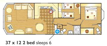 Caravan Floor Plan Layouts 5 Star Holiday Home Specification And Virtual Tour Pettycur Bay