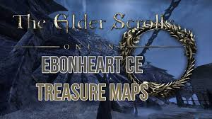 Coldharbour Ce Treasure Map Eso Ebonheart Pact And Coldharbour Explorer U0027s Pack Treasure Maps