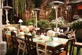 garden party dinner ideas trellischicago