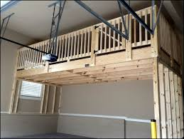 Build Wood Garage Shelves by Exellent Garage Storage Loft Ideas Project Build Intended Design
