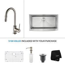 Kitchen Faucets Canada Stainless Steel Kitchen Sink Combination Kraususa Com