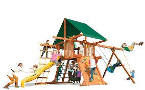 Cedar Playsets Outback 5 U0027 A Woodplay Playsets