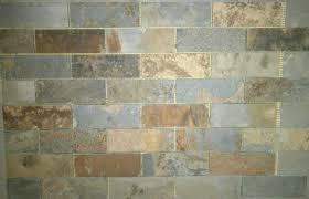 Slate Kitchen Backsplash Slate And Glass Backsplash Tiles