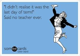 Image result for end of term.