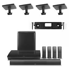 bose home theater systems bose lifestyle 650 system with 4 omnijewel ceiling brackets u0026 1