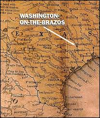 Washington on-the-brazos