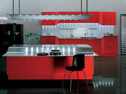 Red And Black Kitchen Ideas Red Kitchen Cabinets Great Design Luxury Classic Dullred Kitchen
