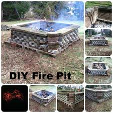 How To Make A Fire Pit In Backyard by 38 Easy And Fun Diy Fire Pit Ideas Amazing Diy Interior U0026 Home