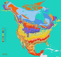 United States And Canada Map by Ontimezonecom Time Zones For The Usa And North America Printable