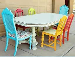 Best Bright Painted Furniture Ideas On Pinterest Colorful - Colorful patio furniture