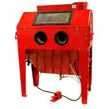 black bull 110 gal sandblaster cabinet dust collector sbc420 sandblaster cabinet dust collector