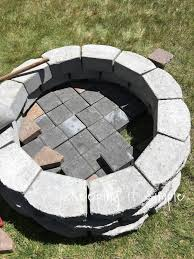 Ideas For Fire Pits In Backyard by Keeping It Simple How To Build A Diy Fire Pit For Only 60