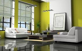 stylish painting concrete walls design
