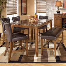 Ethan Allen Bench Dining Room Kitchen Tables Ashley Furniture - Ashley furniture dining table with bench