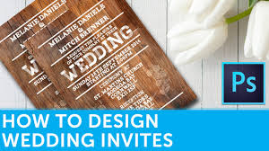 how to design a wedding invitation in adobe photoshop solopress