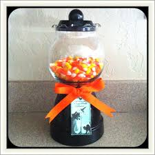 halloween crafts with candy diy gumball machine halloween candy jar using fish bowl u0026 clay
