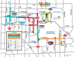 Map Of University Of Michigan by Ann Arbor Street Art Fair The Originals