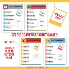 Halloween Party Game Ideas For Teenagers by Selfie Scavenger Hunt Selfies Printing And Youth