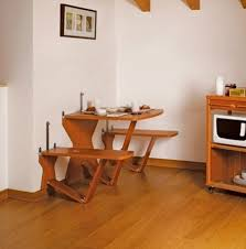 Space Saving Kitchen Furniture by Best Small Apartment Table Images Amazing Design Ideas Cany Us