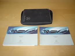 mercedes benz w171 r171 slk class owners manual handbook with