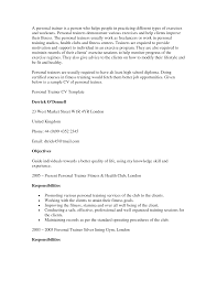 personal trainer resume examples sample resume for personal trainer resume for your job application sample resume for call center trainer position sample resume for