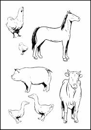 printable 51 farm animal coloring pages 3687 farm animal
