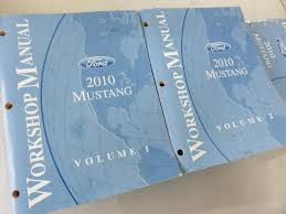 2010 ford mustang gt cobra mach service shop repair manual