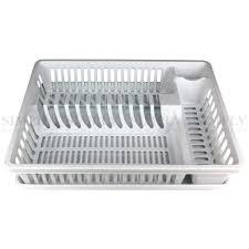 Plastic Dish Drying Rack Plastic Dish Rack Plate Drying Cutlery Holder Drainer Dishrack Tray Dr