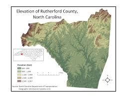 Zip Code Map Nc by Map Of Rutherford County S Diagrams Free Printable Images World Maps