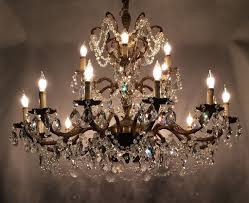 Crystal Chandeliers For Dining Room Antique Crystal Chandeliers For Dining Room U2014 Home Ideas