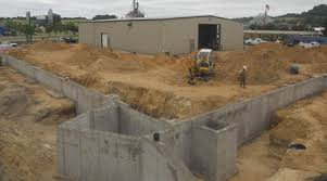 Insulating Basement Concrete Walls by Reinforced Poured Concrete Walls Insulated Concrete Forms