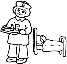 coloring pages of tools nurse coloring pages getcoloringpages com