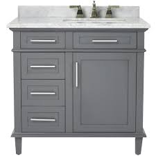 Home Decorators Reviews Home Decorators Collection Sonoma 36 In W X 22 In D Bath Vanity