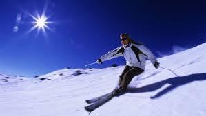 Fabienne Phillips skis Thredbo