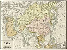 World Map Asia by Map Of Asia 1892 Full Size