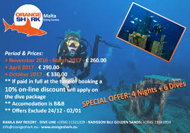 special offers orangeshark diving center