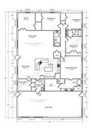 Metal Shop With Living Quarters Floor Plans 13 Awesome Barndominium Designs To Inspire You Barndominium
