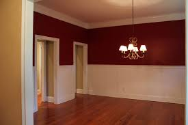 furniture spectacular oak paneling with shades chandelier and red