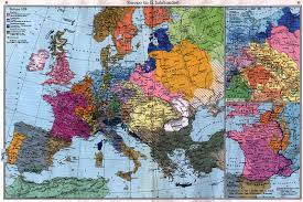 Western Europe Political Map by Maps