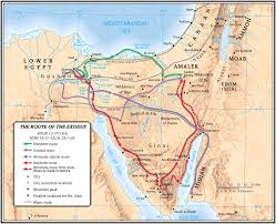 Map Egypt Lion Tracks Photo Qna The Land Of Goshen In Egypt Pithom