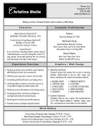 Graphic Design Resume Objective  fashion design resume  fashion