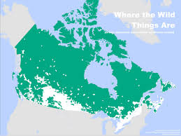 Population Density Map United States by This Is How Empty Canada Really Is Photos