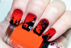 nail art halloween nail art design ideas designs easy for