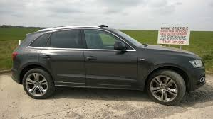 Audi Q5 Black - extended black styling package myaudiq5 forum