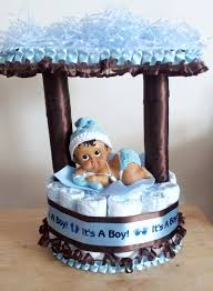 blue camo baby shower decorations light blue and brown baby boy