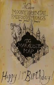 Map Card Austin by Harry Potter Birthday Card U2013 Gangcraft Net