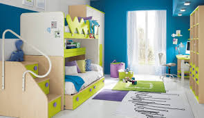 Unique Kids Bedroom Furniture Modern Kids Bedroom Sets Orange Yellow Plain Minimalist Stained