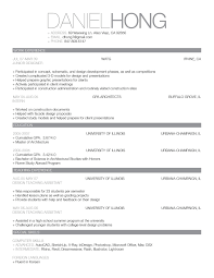 strong words for resumes 52 a good resume sample for fresh graduate sample cv