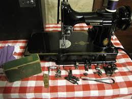 vintage sewing machines singer featherweight 221 u0026 222 sewing machine