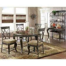 Steve Silver Dining Room Furniture Steve Silver Company Hl500t Hamlyn Dining Table Walmart Com